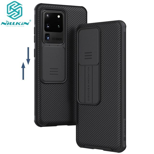 Per Samsung Galaxy S20/S20 Plus /S20 custodia per telefono Ultra A51 A71, custodia protettiva per fotocamera NILLKIN custodia protettiva per obiettivo