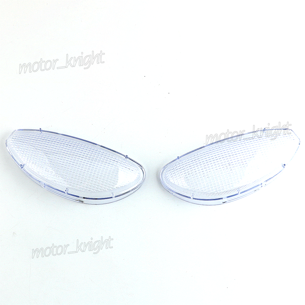 Clear Front Turn Signal Lens For BMW R1100RT 95-05 R1150RT 1995-2005 Indicator Blinker Cover
