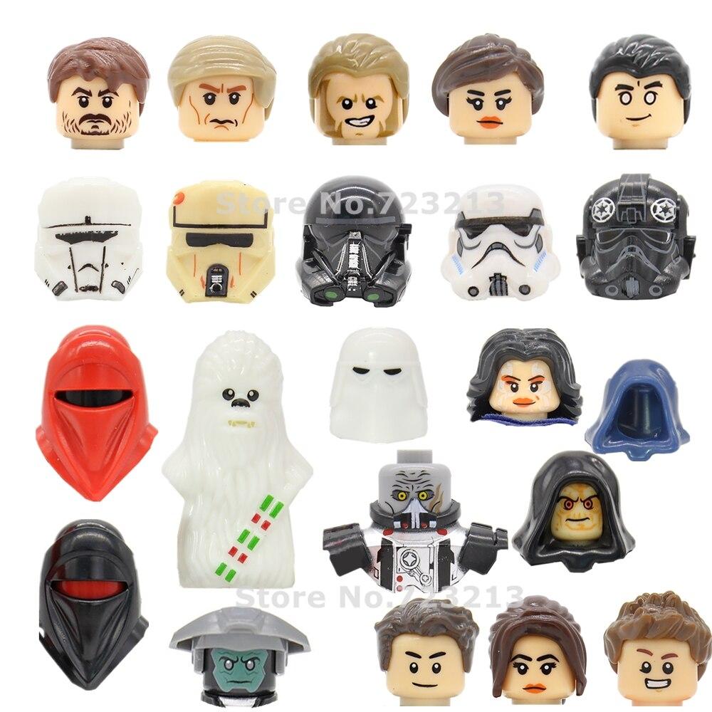 One Star Wars Agent Kallus Figure tête inquisiteur Kordi Erso mort ombre Troopers dark Malgus blocs de construction briques jouets