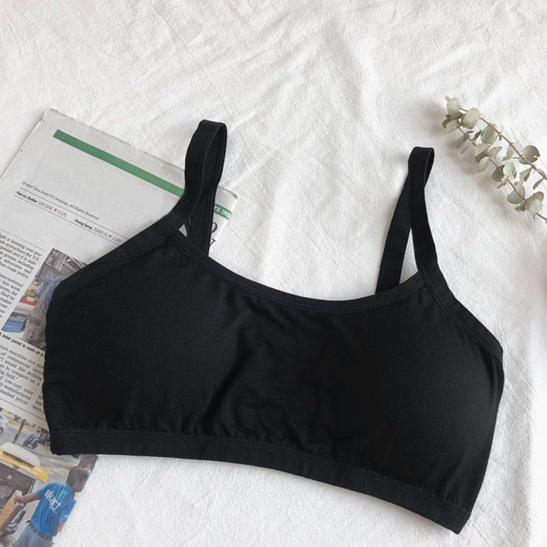 Summer Sport Solid Padded Reusable One Size Breathable Fashion Women Bra