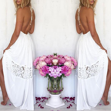 2019 Hot Sell Women Sexy Vestidos Party Dresses White Beach