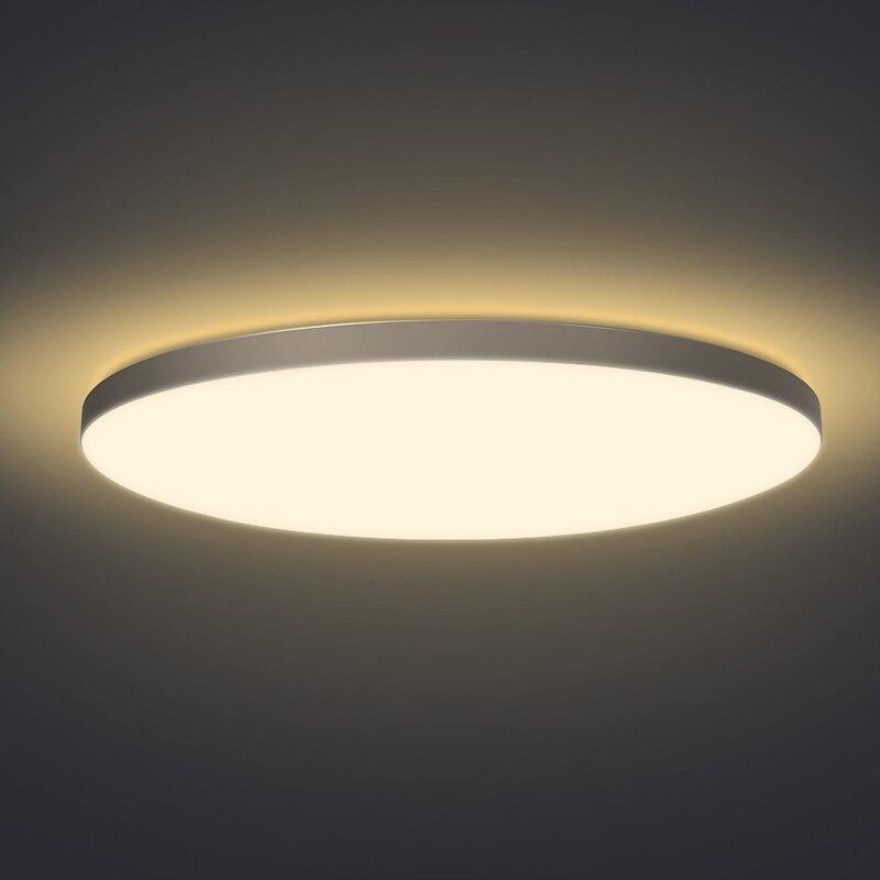 Светодиодные потолочные светильники для гостиной, спальни, с кристальным пультом дистанционного управления, lamparas de techo, современные потоло... - 2