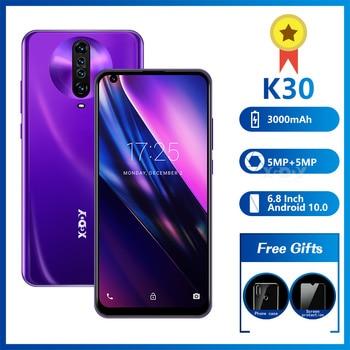 XGODY Android Smartphone 1GB 8GB Celulars 6.8'' qHD Screen MTK6580 Quad Core 3000mAh GPS Wifi 3G Mobile Phones Android 9.0 Phone