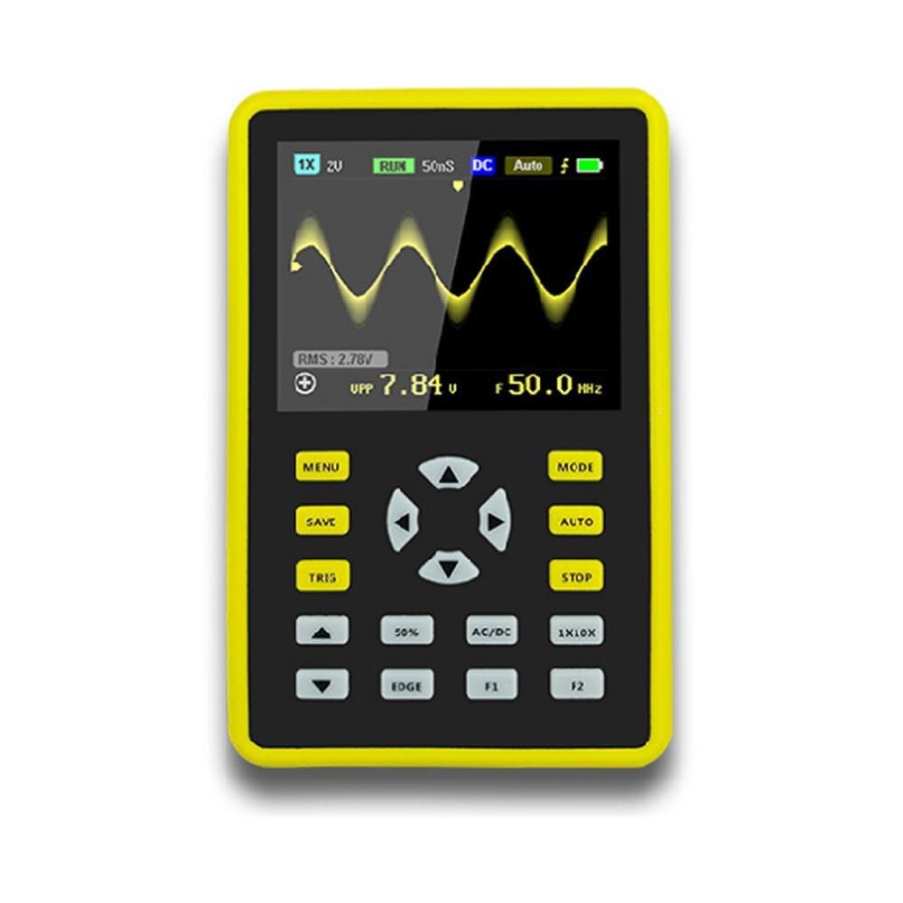 "2.4"" LCD Display Handheld Digital Oscilloscope Kit 100mhz Bandwidth 500MS/s Rate"