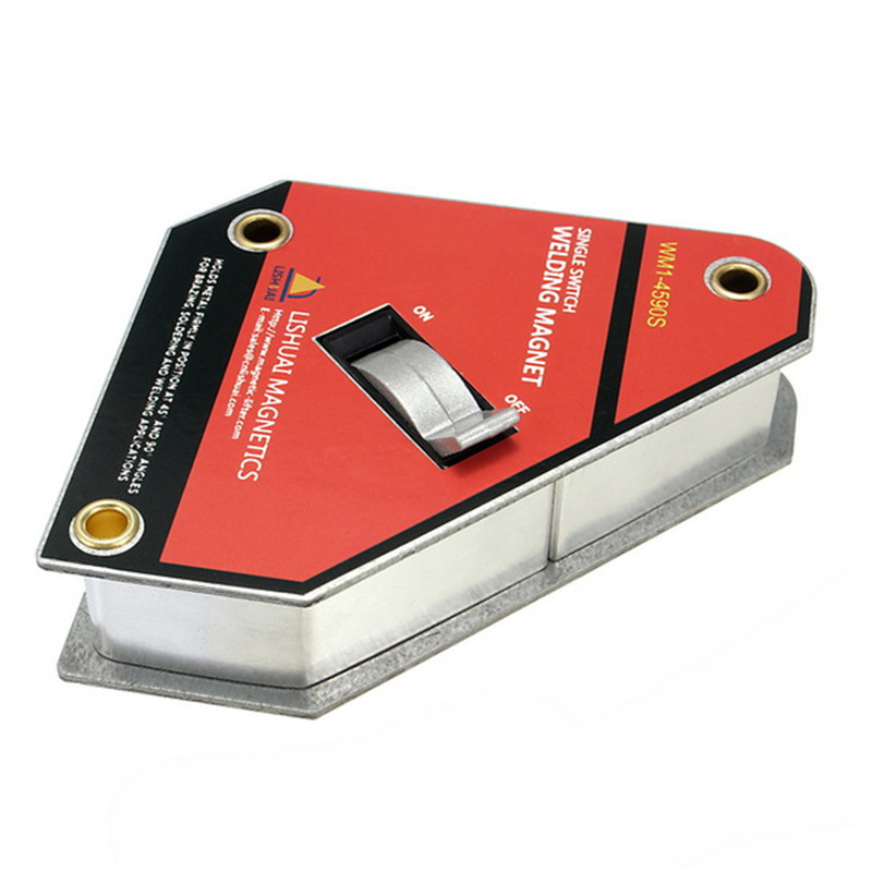 Tools : Strong Single Switch Welding Magnet On Off Switch Magnetic Clamp Holder Small Size
