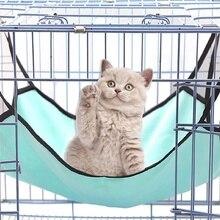 1 шт. подвесной коврик для кошки мягкий Кот гамак зимний Гамак ПЭТ котенок кровать клетка чехол подушка Кролик подвесная клетка для кровати аксессуары