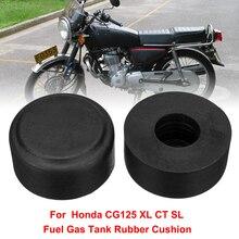 2 uds para Honda Vintage CG125 CT XL SL TL Para depósito de gasolina de motocicleta montaje de cojín junta de tanque de aceite