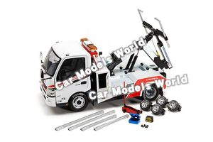 Image 2 - Hino 300 견인 트럭 용 다이 캐스트 모델 1:18 + small gift!!