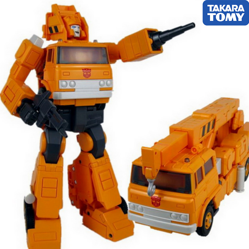 TAKARA TOMY Transformers Master Piece MP35 Grapple Autobot Master Level Action Figure Deformable Collection Toys Gift