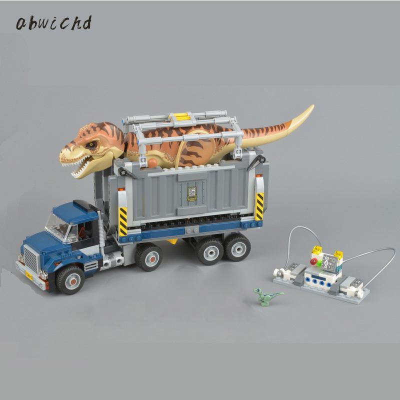 Blocks Bricks Toy Building-Kits Dinosaur-Set Jurassic 10928 75930 Compatible Model Gift