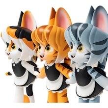Глухая коробка Ciega фигурку горничной кошка серии Горячая коллекция животных подарочная упаковка стол украшение автомобиля