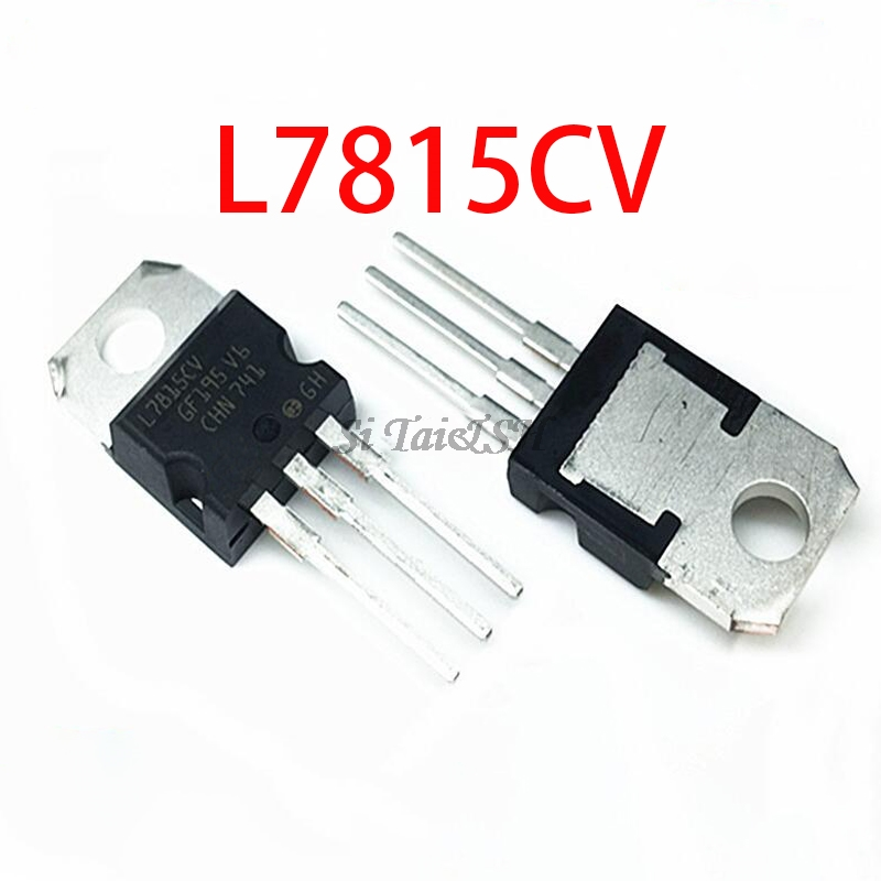 10PCS L7815CV TO220 L7815 TO-220 7815 LM7815 MC7815 New And  Original IC
