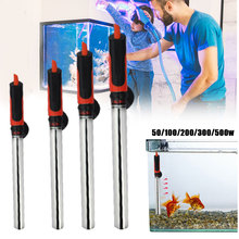 New 50~500W Aquarium Heater Rod Stainless Steel Adjustable 17-35degree Celsius To Control Temperature Heat Water For Fish Tank 50 500w aquarium heater rod stainless steel glass adjustable 17 35degree celsius to control temperature heat water for fish tank