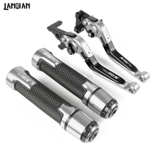 For BMW S1000RR Motorcycle Brake Clutch Lever & 7/8 Handlebar Grips 2010 2011 2012 2013 2014 2015 2016 CNC Accessories