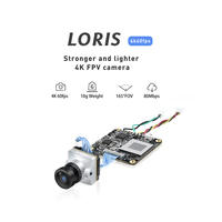 Caddx Loris 4K FPV DVR Camera NTSC/PAL Adjustable with OSD for FPV Racing Drone Aircraft Fixed Wing Aerial Photography
