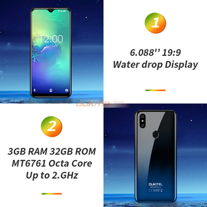 Image 3 - OUKITEL C15 Pro+ 3GB 32GB Android 9.0 MT6761 Mobile Phone Waterdrop Screen Smartphone 4G LTE  2.4G/5G WiFi Fingerprint Face ID