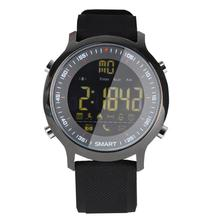Mr 2019 NEW EX18 Bluetooth Smart Watch IP68 Waterproof Swim Men Women For Android iPhone HOT 24 hours real-time sport monitoring