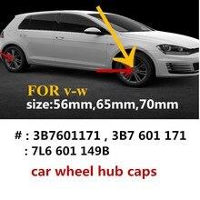 4pcs 56mm 65mm 70mm 76mm Car wheel center cap hub caps covers badge emblem for 3B7601171 1J0601171 7L6601149B 71601149