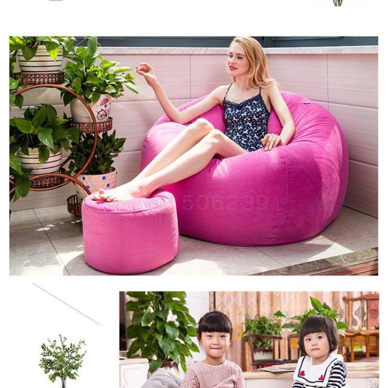 Bean-Bag Lounge-Chair Bedroom Living-Room Single Sofa Tatami Lazy-Couch Balcony Creative