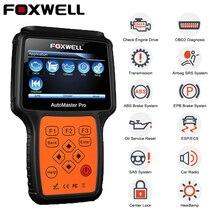FOXWELL NT624 PRO OBD2 Automotive Scanner Motore Airbag SAS EPB Reset Olio Completo del Sistema OBD 2 Auto di Diagnostica di Scansione Strumento liquidazione