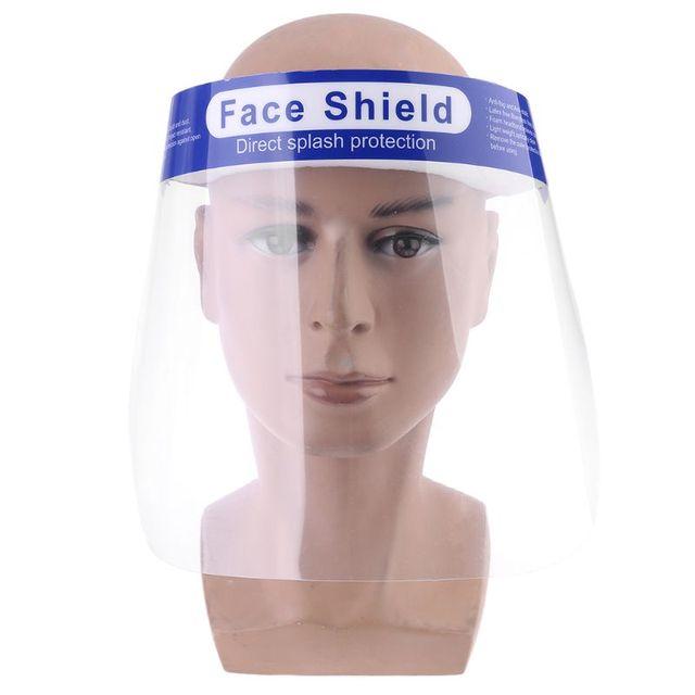 Protective Adjustable Face Masks Anti-Saliva Dust-Proof Full Face Cover Mask Visor Shield 3