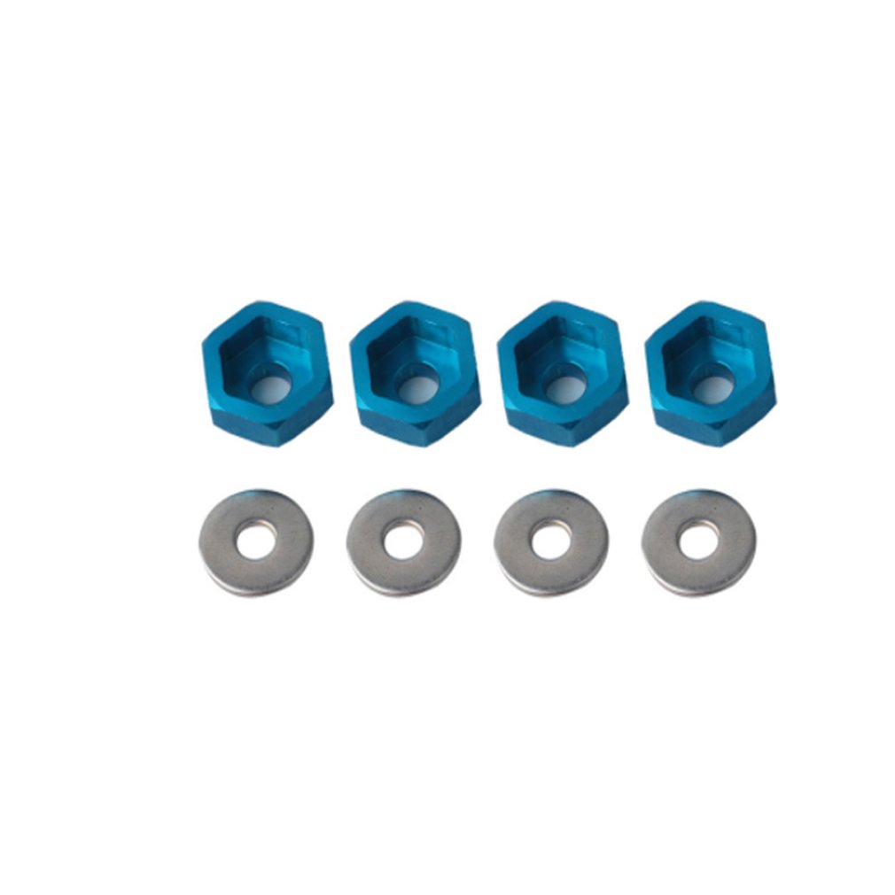 <font><b>Wheel</b></font> Adapters 1/10 Retrofit 1/8 <font><b>Wheel</b></font> Rim Hex 12MM To 17MM Conversion Combiner For HSP RC Car Buggy Monster Bigfoot Truck image