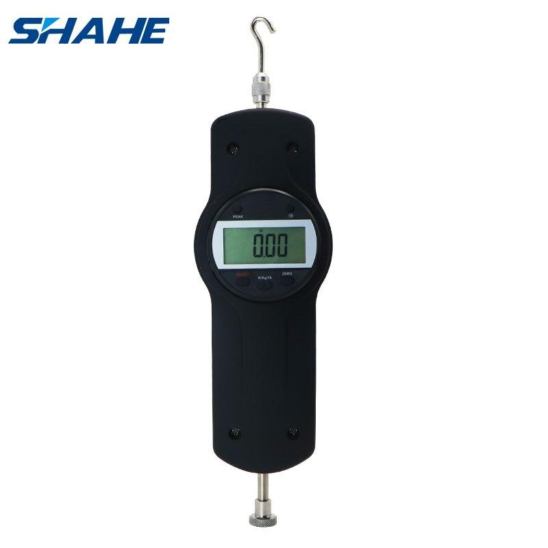 Shahe 10N Portable Digital Force Meter Dynamometer Digital Push Pull Gauge Force Measuring Instruments SDF-10
