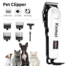 100V-240V Dog Hair Trimmer Pet Hair Clipper Animal Cat Haircuts Professional Dog Grooming Clipper