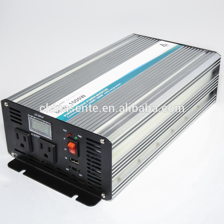 High Frequency 1000w Dc To Ac Inverter 10000 Watt Pure Sine Wave Ac Inverter With Battery Charger