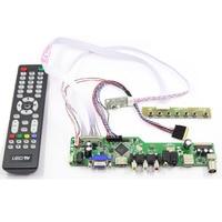 Latumab novo kit para b173rw01 v5 v.5  tv + hdmi + vga + usb lcd  controle de tela  placa de driver