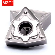 MZG 10PC WNMG 0804 08 04 HS ZN60 CNC Boring Turning Lathe Cutting Tools Steel Carbide Cermet Inserts