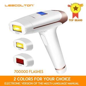 Лазерный эпилятор Lescolton для удаления волос, IPL аппарат 3 в 1, 700000 вспышек, долговременный эффект, подходит для области подмышек