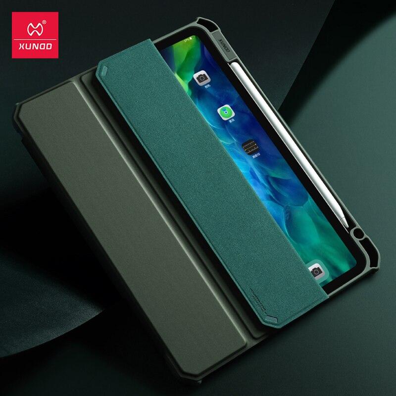 Tablet para Ipad Case de Couro Capa à Prova de Choque Cases de Concha Inteligente para Ipad Xundd Capa Protetora Airbag 11 Case Pro 2020