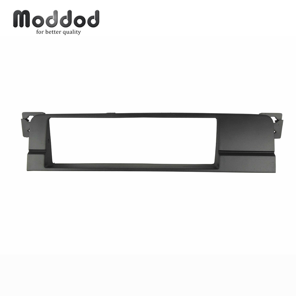 Hight Quality Double Din Fascia Radio DVD Stereo Panel Dash Mount Trim Kit Frame Surroud Plate Bezel  For BMW 3 Series E46
