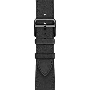 Image 5 - הכי חדש אמיתי עור שעון רצועת עבור אפל שעון סדרת 5 4 40mm/44mm להקת שעון צמיד רצועת השעון עבור אפל שעון סדרת 3 2