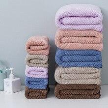Pineapple Coral Velvet Towel, Bath Towel Set, Microfiber Wash Towel, Adult Bath Towel bath towels for adults  hair towel  towel coral velvet absorbent bath towels for adults face towel bath towel set soft comfortable bathroom towel set 70 140 11 colors