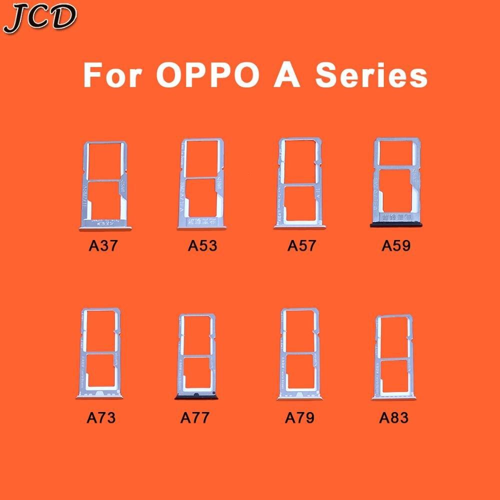 JCD For OPPO A37 A53 A57 A59 A73 A77 A79 A83 Dual SIM SD/TF Card Adapter Holder Slot Tray Smartphone Motherboard FFC Insert
