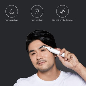 Image 2 - SOOCAS Electric Nose hair trimmer for Xiaomi Youpin Mini N1 Portable Ear Nose Hair Shaver Clipper Waterproof Safe Cleaner Men