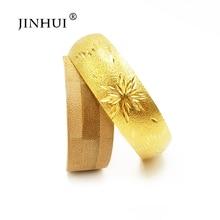 Bangles Jewelry Dubai Bracelet Ethiopian Gold-Color Wedding-Gifts Bridal Women Fashion