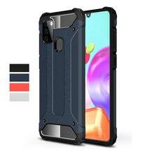 Robuste Rüstung Fall Für Samsung Galaxy A21s A51 A71 S20 FE Hinweis 10 S10 Lite A31 A81 A91 A11 M31S m60S M80S M30S Hard Cover Fall