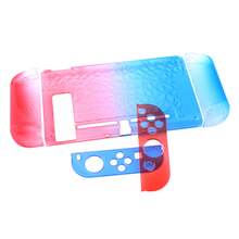 Hard Protection Cover Anti-Slip Case For Nintendo Switch Ns Case Hard Shell Gradient Color Crystal Shell Console Controller Acce protective case crystal cover shell shockproof back clear ultra thin transparent for nintendo switch ns game console controller