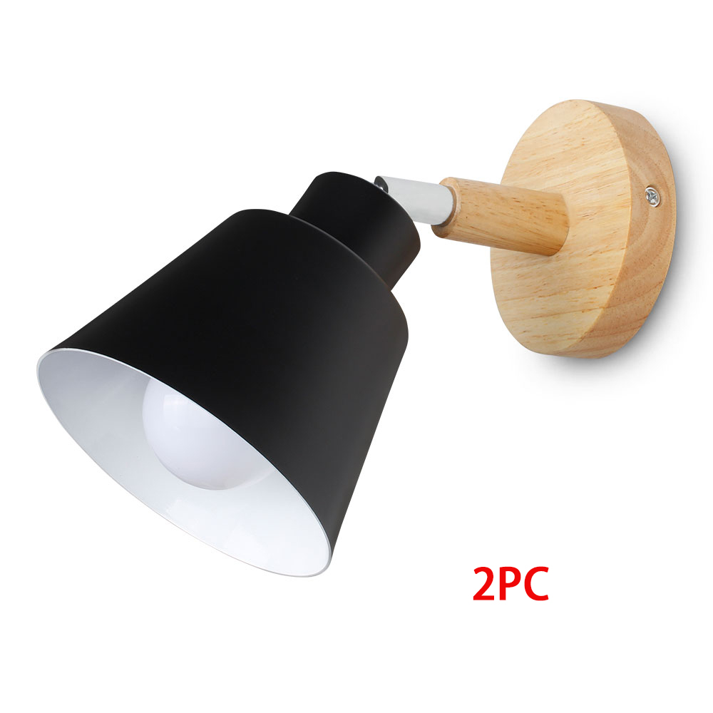 Black 2pc No Bulb