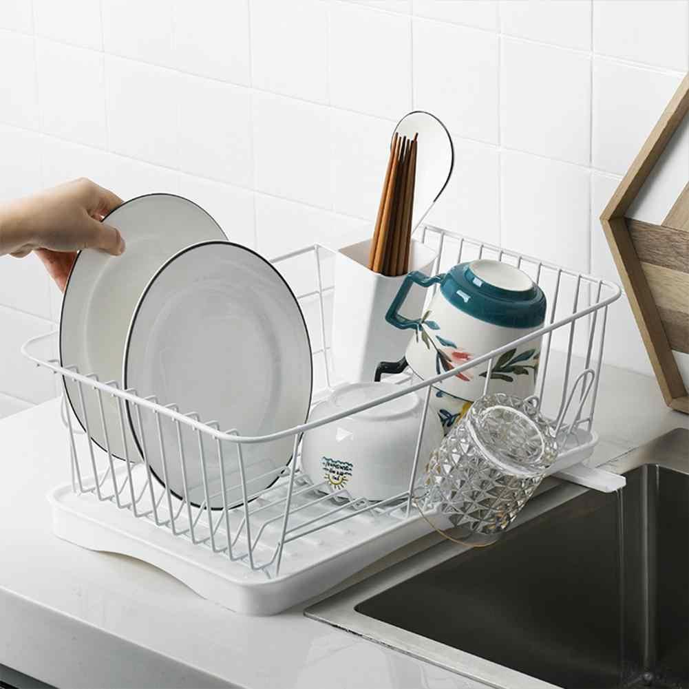 """Studyset מטבח כלי שולחן מדף מקלב מייבש עבור קערות מקלות אכילה צלחת סכו""""ם אחסון"""