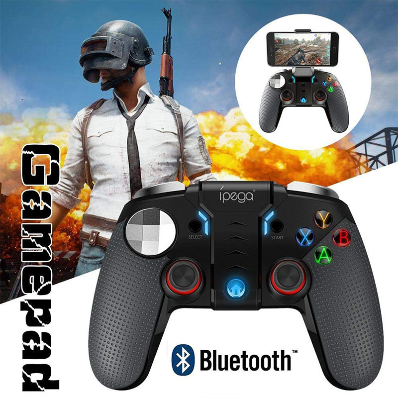 BEESCLOVER PG-9099 Wireless Bluetooth Gamepad Gaming Controller Joystick Dual Motor Turbo Gamepads For Windows Android Phone D25