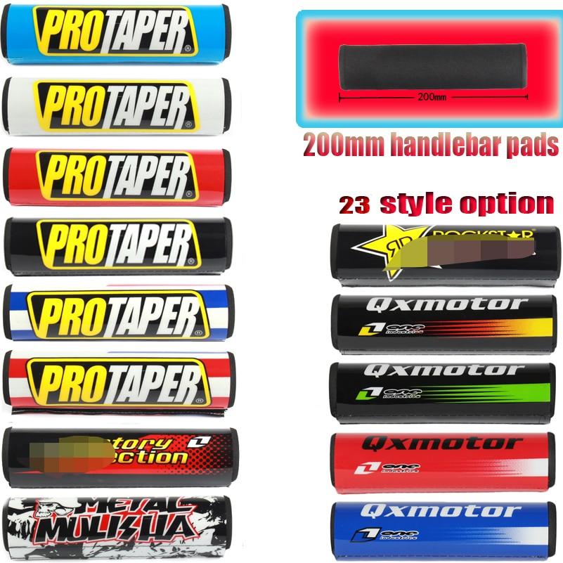 Motorcycle PROTAPER 20cm Handlebar Pads Dirt Bike Bar Protector Pit Bike Rod Pad ATV Motorcross