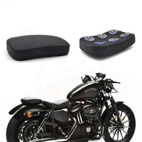 for Harley Davidson XL883 1200 Softtail Motorcycle Modified with Retro sucker Backseat Pack Harley Seat Pack