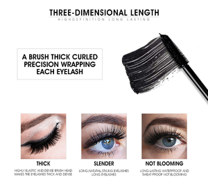 Image 5 - IMAGIC Cosmetic Set Sale 3 Get 1 Black Mascara Liquid Eyeliner 16 Colors Flash Pigment Eye Shadow Eyebrow Pencil