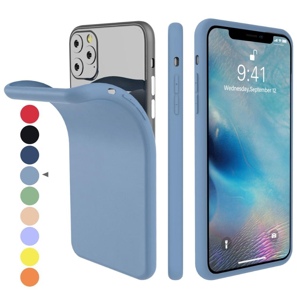 Torubia Silicone Case for iPhone 11/11 Pro/11 Pro Max 8