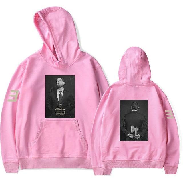 Music To Be Murdered By Eminem MTBMB Album Logo Fashion New Arrival Harajuku Women men Cool Hooded Sweatshirt