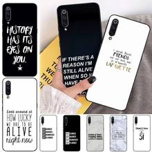 HaNismt Lucky number And black letter Phone Case Cover for xiaomi mi 8 9 8SE 9SE 8Lite mix2 2S max2 3 Pocophone F1 for xiaomi pocophone f1 case slim skin matte cover for xiaomi f1 pocophone f1 case xiomi hard frosted cover xiaomi poco f1 case